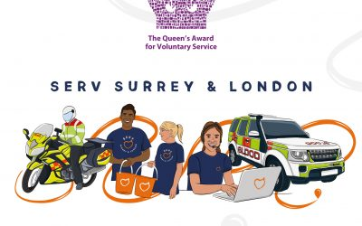 SERV Surrey & London receives The Queen's Award for Voluntary Service